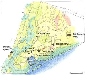 Falsterbo topografi