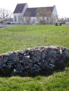 kyrka  borgmur