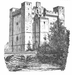 Chambois donjon 1100-tal