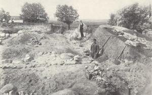 utgrävning