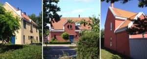 Hus 1 + 3 trippelbild