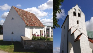 kyrkan dubbelbild