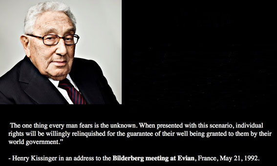 Henry Kissinger Quote - NWO rev
