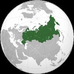 Ryssland karta