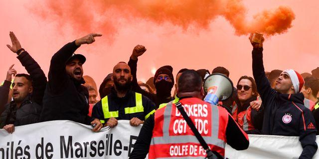 fransk strejk 1